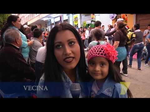 Música y colorido en Desfile Navideño Paseo de la Sexta