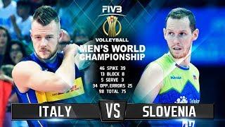 Video Italy vs. Slovenia | Highlights | Mens World Championship 2018 MP3, 3GP, MP4, WEBM, AVI, FLV September 2018