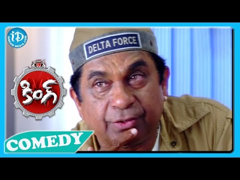 Brahmanandam Back To Back Funny Scenes - King Movie || Telugu