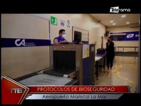 Protocolos de bioseguridad aeropuerto Mariscar La Mar