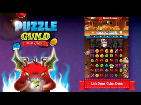 Video of Puzzle Guild: The Dragon War