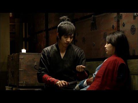 【TVPP】Lee Seung Gi - Treat Suzy with his blood, 자신의 피로 수지(여울)의 상처 치료하는 승기(강치) @ Gu Family Book