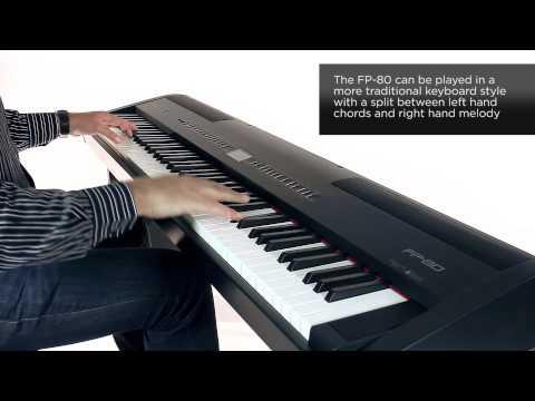 Roland FP-80 Digital Piano Rhythm Sound Preview