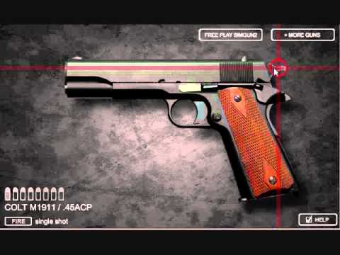 Video of Sim Gun M1911