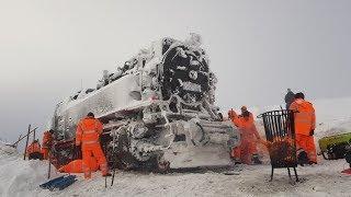 Die Rettung der Brockenlok 99 234 am 10.Januar 2019 / Brockenbahn eingefroren # POLAREXPRESS