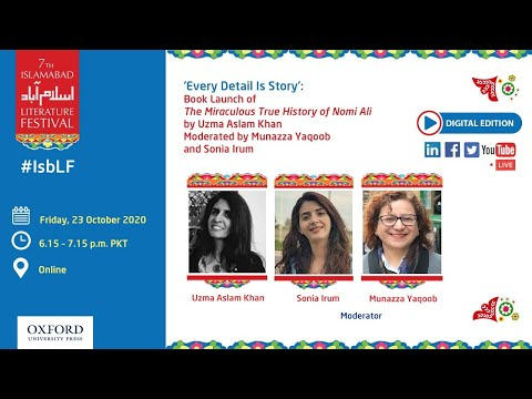 '𝐄𝐯𝐞𝐫𝐲 𝐃𝐞𝐭𝐚𝐢𝐥 𝐈𝐬 𝐒𝐭𝐨𝐫𝐲' Book Launch: The Miraculous True History of Nomi Ali