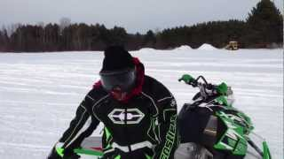 4. 2013 Arctic Cat XF1100 Sno Pro Turbo Snowmobile Review Eddie Vegas Fender Strat Ville