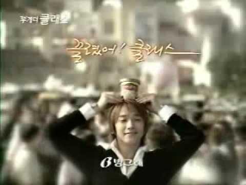 Ninja Assassin Rain, icecream TV CF and NG video crip very cute! 2002