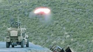 TOW MISSILE DESTROYS A TALIBAN HILLSIDE CAMP - 'NO SLACK'