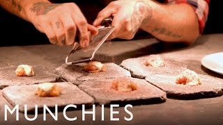 In the final episode of the MUNCHIES Guide to Sweden, we explore the growth and popularity of New Nordic Cuisine. Our host...