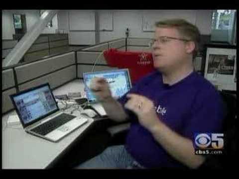 Twitter on CBS News in 2007