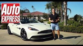 Aston Martin Vanquish Volante review - Auto Express