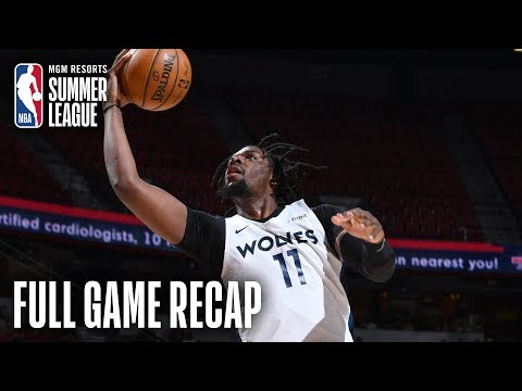 Video: NETS vs TIMBERWOLVES | Naz Reid Leads Wolves To Championship Game | MGM Resorts NBA Summer League