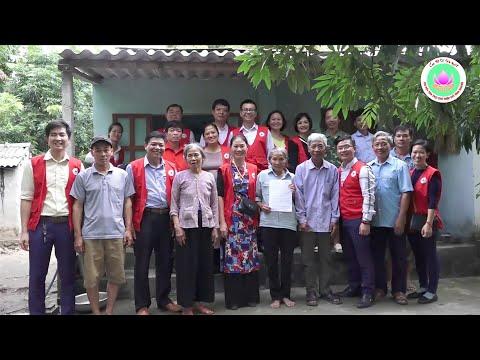 Chi hội Tình Người khảo sát xây Nhà Chữ thập đỏ tại Huyện Vĩnh Bảo, thành phố Hải Phòng