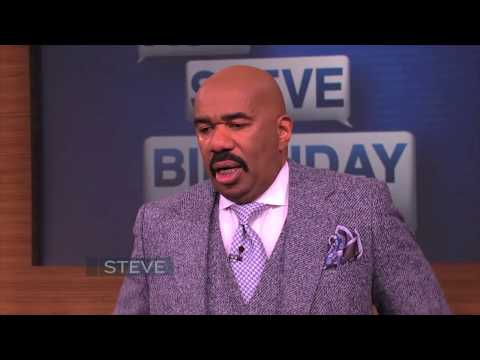 Steve Harvey breaks down on his TV show