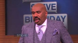 Watch the emotional surprise! Subscribe now to the STEVE HARVEY YouTube channel: http://bit.ly/1K5UsMy Find out where to watch in your city here: ...