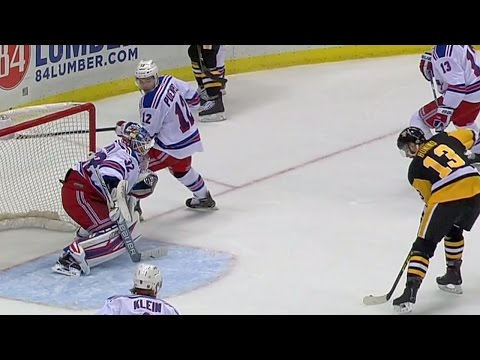 Video: Gotta See It: Rangers defence quits, Penguins score easy goal