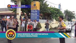 KASUS MENONJOL JADI SOROTAN KAPOLDA DI POLRES PANGKALPINANG #TRIBRATA NEWS