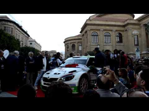 La partenza della 99^ Targa Florio da Palermo