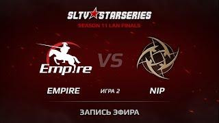 Empire vs NIP, game 2