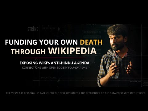 WikiPedia EXPOSED - Why Asking For Donations? | Anti-Hindu Agenda | Part 1