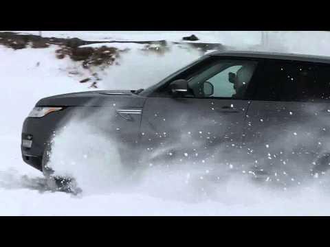 2014 Land Rover Range Rover Sport vs 2005 Toyota Corolla Ice Race