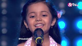 Download Lagu Ayat Shaikh - Blind Audition - Episode 1 - July 23, 2016 - The Voice India Kids Mp3
