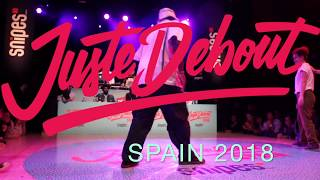 Bandidas (Cintia & Sacha) vs Sifer & Funky Fella B – Juste Debout Spain 2018 Popping Semi Final