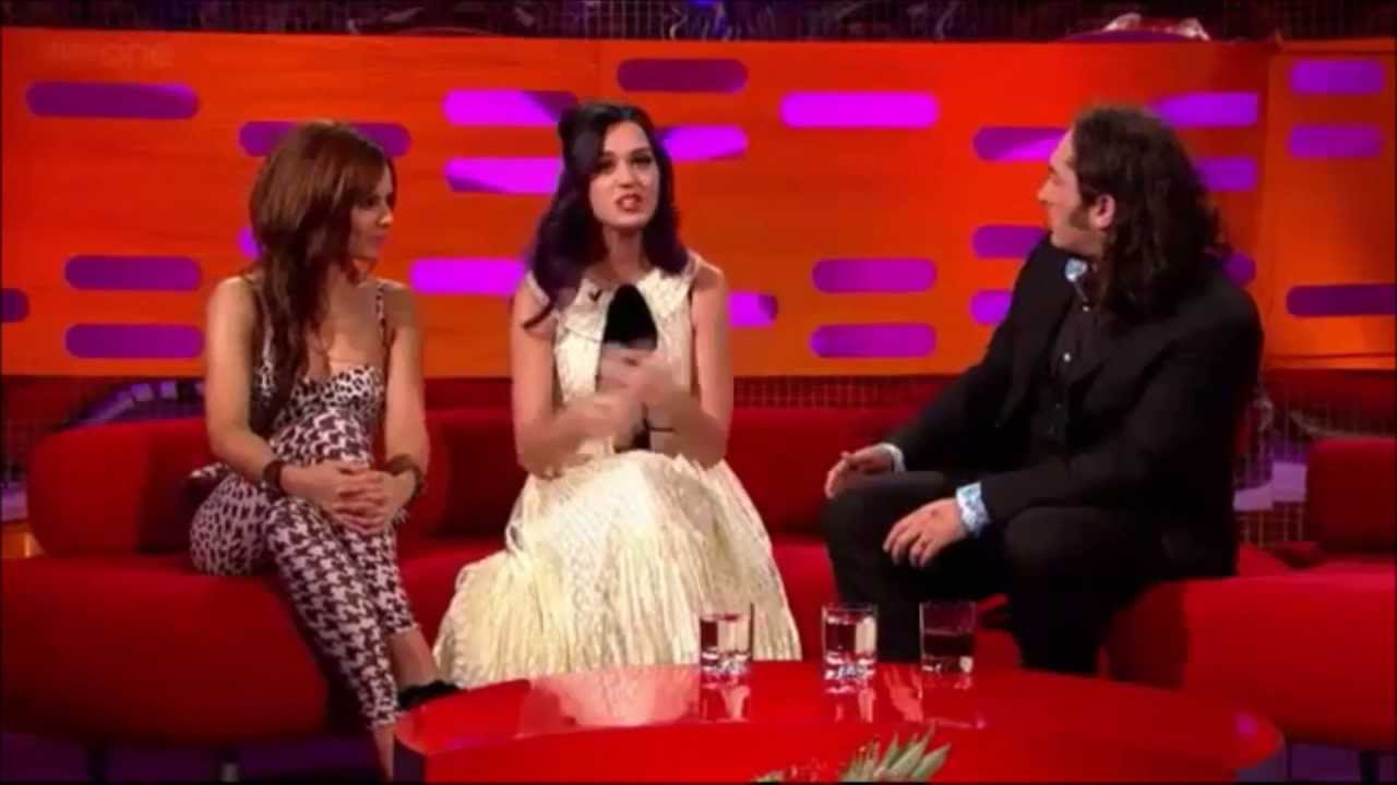 Ross Noble called a racist by Katy Perry! Very funny response