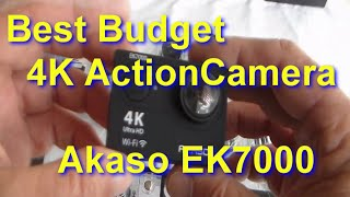 Video AKASO EK7000 4K Action Camera Unboxed, how to use with LOADS of Test clips MP3, 3GP, MP4, WEBM, AVI, FLV Mei 2019