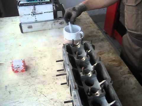 Как заменить направляющие втулки клапанов на ауди 100