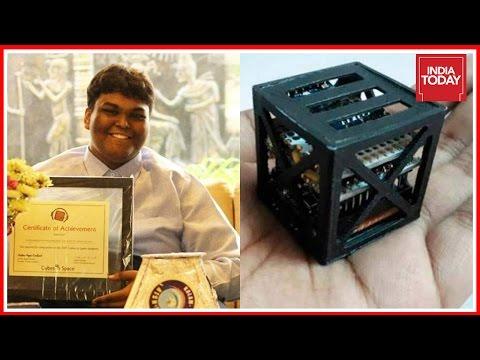 Indian Teen From Tamil Nadu Creates World's Lightest Satellite For NASA
