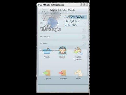 Automação de Força de Vendas Externas (Mobile)
