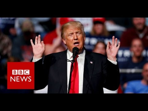 What Donald Trump's Hand Gestures Say About Him - BBC News