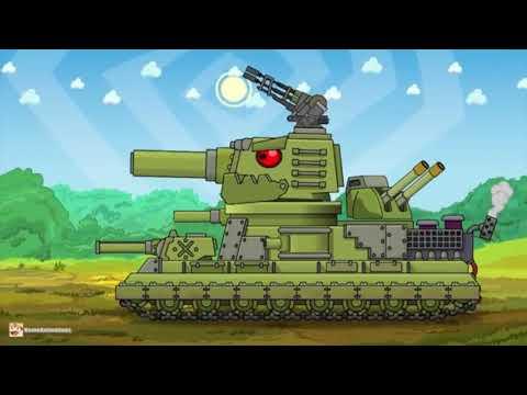 Fidzheron: guardián de la fortaleza soviética - dibujos animados sobre tanques