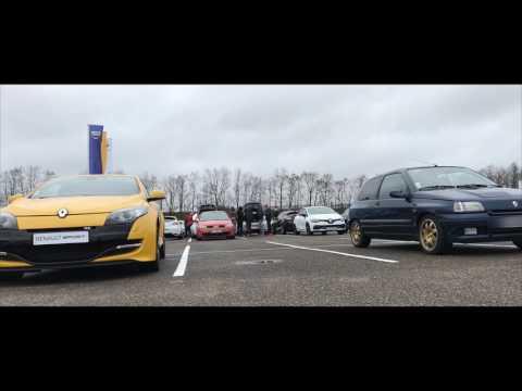 Rassemblement Renault Sport à Sarreguemines