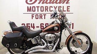 5. 2008 Harley Davidson FXSTC ANV Softail Custom Anniversary FOR SALE