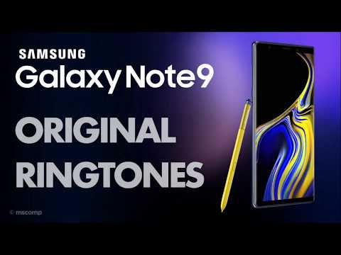 Samsung Galaxy Note 9 Ringtones || Notifications || Wallpapers (Download Link In Description)