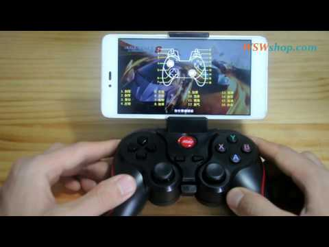 Android Gamepad Bluetooth Game Controller Test Review With FiFa 15 Ultimate Team