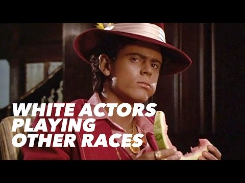 Video: White actors in non-white roles