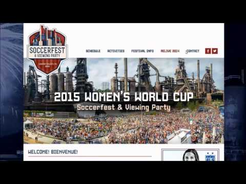 , title : 'Tourism in a Minute : 2015 Women's World Cup SoccerFest & Viewing Party'