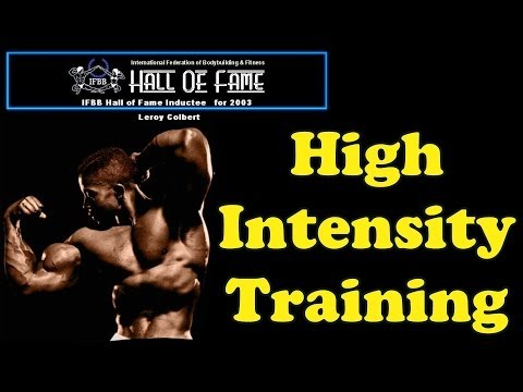 High Intensity Training – Bodybuilding Tips To Get Big