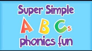 Practice phonics for letters A-I with this video from Super Simple Learning.