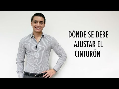 Dónde se debe ajustar el cinturón   Humberto Gutiérrez