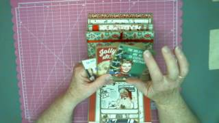 I enjoyed creating this project using Authentique Retro Christmas Collection. Such beautiful graphics and colors, so so easy to work with. I created an alter...