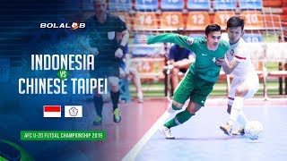 Download Video Indonesia (6) - (3) Chinese Taipei - AFC U20 Futsal Championship 2019 MP3 3GP MP4