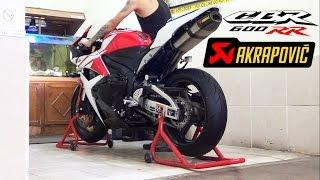 3. Honda CBR600RR 2012 Akrapovic Carbon Titanium Full System istimewa