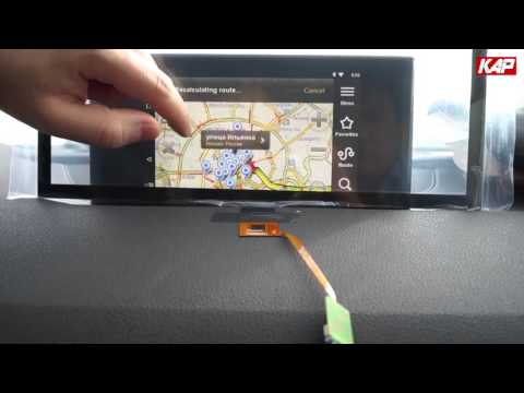 ROIK Android Navigation Test 3 (Pinch to zoom & Voice contro…
