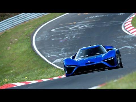Nio EP9 Sets Nurburgring Lap Record - 6:45.9