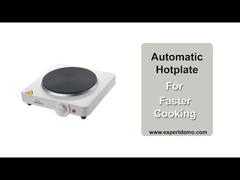 Electric Hot Plate Cooktop: perfect alternate for your kitchen